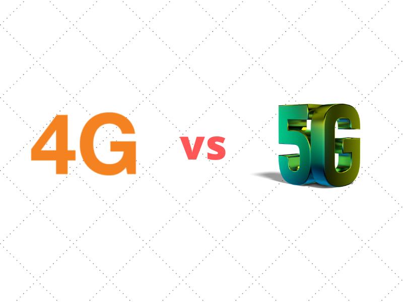 so sánh giữa 4g và 5g