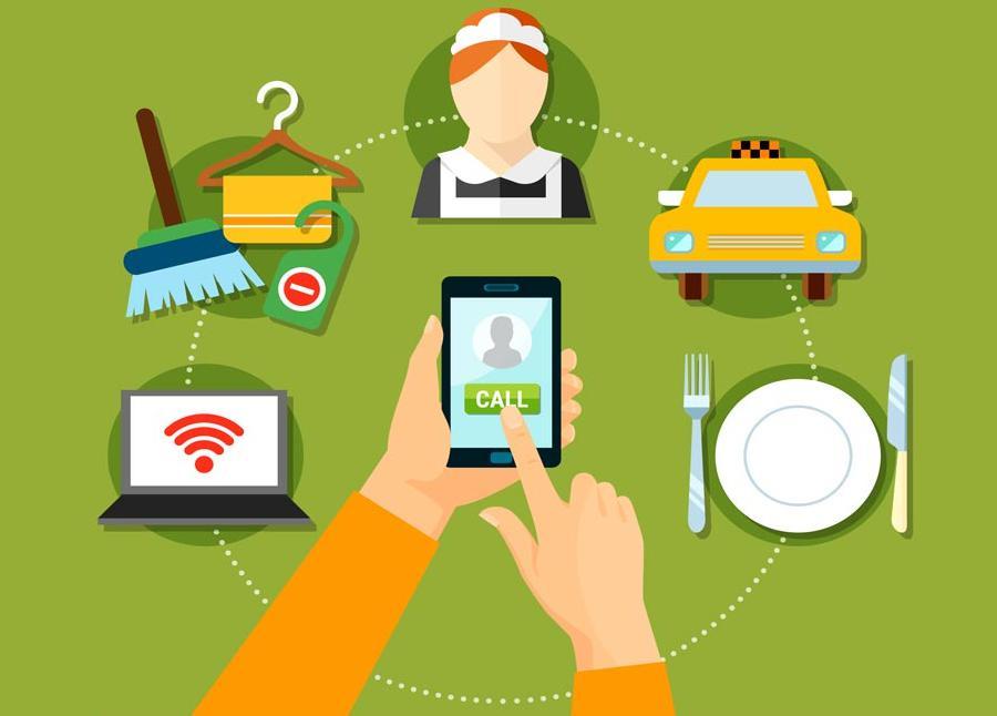 Quản lý khách sạn qua các ứng dụng di động